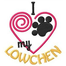 I Heart My Lowchen Ladies Short-Sleeved T-Shirt 1342-2 Size S - Xxl