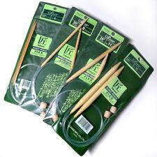 Clover 71014 Bamboo Circular Knitting Needles 24 in Size 6