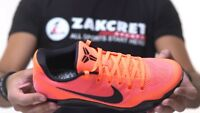 Mens Nike Air Kobe XI Elite Sneakers New, Barcelona 836183-806 sku AA