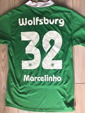 VFL Wolfsburg Home Shirt 2009 - Nike Football Jersey Size M Marcelinho #32