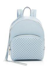 Rebecca Minkoff Backpack Bag Bleached Blue Leather Perforated Stars NEW $325