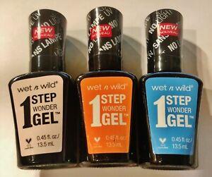 Wet N Wild 1 STEP WONDER GEL (Choose Your Colors)