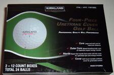 8 Dozen New Kirkland Signature Four-Piece Urethane Cover Golf Balls - Limited