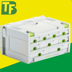 Festool SYSTAINER 491985 SYS 3-SORT/9 (9 Drawer Sortainer)
