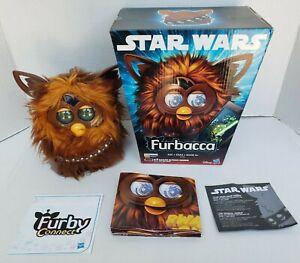 Disney Hasbro Star Wars Furby Chewbacca Furbacca Interactive Toy Tested Works