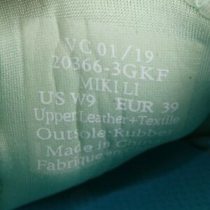 OluKai Women's Sneaker Miki Li Pale Green Grey Lightweight Quick Dry Lace Up