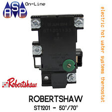 GENUINE HOT WATER THERMOSTAT - ROBERTSHAW ST1201 - SUITS ALL MAJOR BRANDS