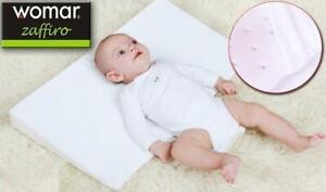 Baby Wedge Pillow Flat Head AntiReflux Colic Cushion For Pram Crib Cot Bed 60x36