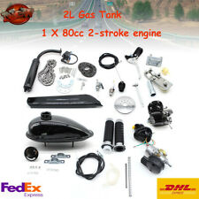 2-Stroke 80cc Bike Bicycle Motorized Petrol Gas Motor Engine Kit Single Cylinder