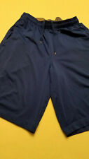 Under Armour Mens Loose Royal Blue Medium Silky Shorts Athletic Running Gym