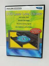 Phillips Magnavox DVD CD CD-R CD-RW CD-ROM player Laser Lens Cleaner