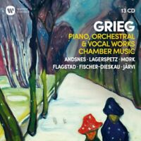 Artistes Divers - Grieg: Piano, Orchestral & Voc Neuf CD