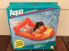 AQUA Inflatable Propulsion Kick Rider Water Float Kids Swimming Aid Pool Fun