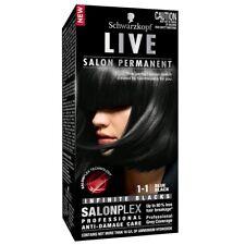Schwarzkopf Live Salon 1.1 Blue Black Intensive, long-lasting colour