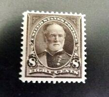 Mint US Stamps - Scott 272  8c Sherman   VF OG NH  -  Clean PSAG Cert