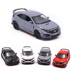 HONDA CIVIC TYPE-R Alloy Toy Car Model Metal Diecasts Toy Vehicles