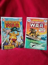 DC The Unknown Soldier: Star Spangled War comics #180 #173 7-7.5 grade