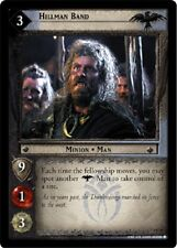 LOTR TCG Hillman Band 4C21 The Two Towers Lord of the Rings MINT FOIL