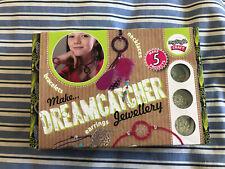 DREAMCATCHER JEWELLERY MAKING KIT- NEW- 5 PROJECTS-BRACELETS, EARRINGS,NECKLACES