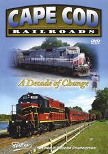 Cape Cod Railroads Pentrex Train DVD New