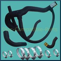 Land Rover Discovery 300 TDi Radiator Hose + Stainless Steel Hose Clamp Kit