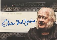 Oliver Ford Davies Valyrian Steel Autograph, Game of Thrones Complete Series