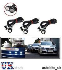 6X CAR BIKE VAN 18MM LED EAGLE EYE DAYTIME RUNNING DRL BACKUP WHITE LIGHT LAMP