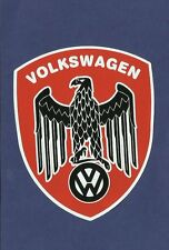 VW Vinyl Decal Sticker VOLKSWAGEN EAGLE KOMBI RAT FINK ROCKABILLY BEETLE SAMBA