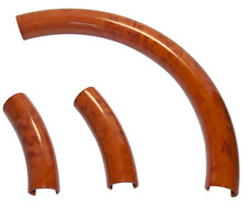 STEERING WHEEL COVER LIGHT BROWN WOOD GRAIN for FORD F-150 LINCOLN MERCURY #
