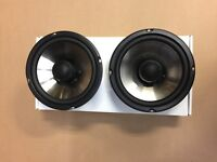 "ATOMIC 6.5"" silk dome tweeter 2 way coaxial speakers. Top of the line!"