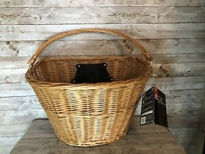 Bell TOTE 700 Quick Release Wicker Handlebar Basket Large NWT
