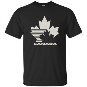 Team Canada Retro, Hockey, Logo, Throwback, T-Shirt