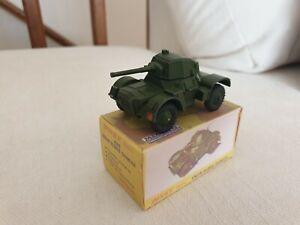 RARE Dinky 676 Daimler Armoured Car excellent in repro box