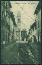 Novara Carpignano Sesia cartolina QQ5282