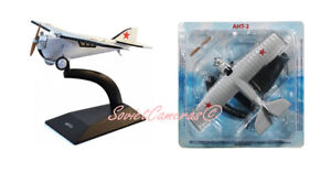 1/72 Tupolev ANT-2 Russian Soviet First All-Metal Aircraft 1924 Deagostini New