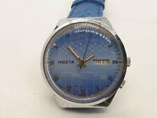 Wristwatch RAKETA multicalendar Mechanical Vintage USSR