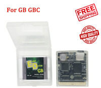 Super 2750 in 1 Cartridge GBC GB EDGB GameBoy Color GBC Console With Card & Box