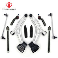 Inner Outer TieRod Front and Rear Stabilizer Links Suspension Kit for 2008-2012 Honda Accord 2.4L 3.5L Lower Ball Joints 14pc Front upper lower control arm Topicksap