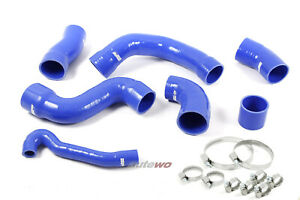 Audi/SEAT S3 8L/TT 8N/Cupra R 1.8 Turbo 20V Turbo Silikon-Druckschlauchset blau
