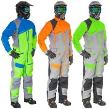 Motorfist Men's Blitzkrieg Suit - Uninsulated Waterproof - Blue, Orange, Green