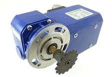 Groschopp VE31 Getriebemotor Schneckengetriebe 3~ 105W 175U WK 1781301 UNBENUTZT