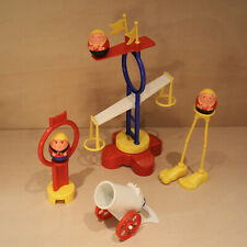 Airfix Weebles - Daredevils Circus - Canon, Figures - Vintage 1970s Playset