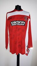 More details for charlton athletic home shirt 2008-09 hand signed by squad. bnwt xl