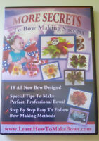 More Secrets to Bow Making Success DVD - Instructional - Make Professional Bows