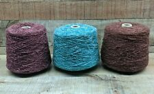 Wine Jade Mahogany Cotton Acrylic Slub Novelty Yarn 2+ lbs 1680 Ypp *Your Choice