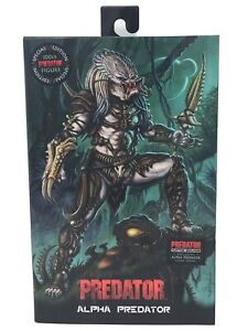 NECA Ultimate Alpha Predator 100th Edition Action Figure With DLC