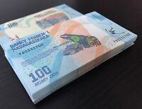 MADAGASCAR 100 ARIARY 2017 P 97 UNC LOT 100 PCS 1 BUNDLE
