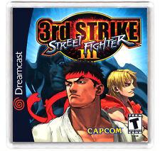 STREET FIGHTER III 3rd STRIKE DREAMCAST FRIDGE MAGNET IMAN NEVERA