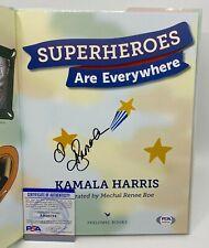KAMALA HARRIS Signed Superheroes are Everywhere Book PSA/DNA COA