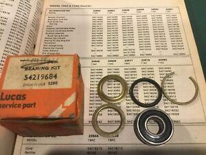 NOS Lucas Alternator Drive End Kit 54219684. Alternators 23541, 23549  —3/25–
